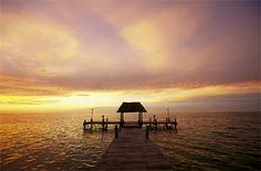 Mexico's halbox island