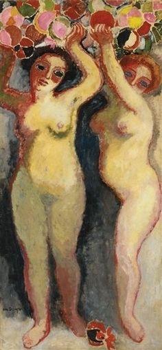 Kees Van Dongen Deux nus aux ballons circa 1905