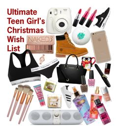"""""""Ultimatr Teen Girl's Christmas Wish List ✨"""" by beautybyee ❤ liked on Polyvore featuring"""