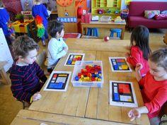 "Tweede en derde kleuterklas van GVB Den Hulst (Testelt): ""Muuns kleine museum"" Rene Magritte, School Themes, Kandinsky, Blogger Themes, Edd, Andy Warhol, Renaissance, Preschool, Education"