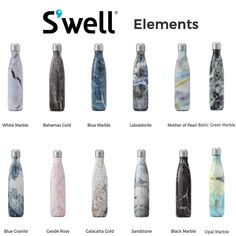 S Well Bottle Gives Back To The Bcrf The Review Wire Well Bottle Marble Water Bottle Bottle