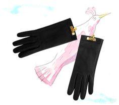 Hermes ... gloved wings