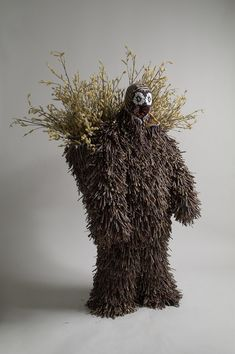 """Chicago-based artist Nick Cave surprises us with amazing human sculptures he created. In fact this is only wearable suits with lots of creativity behind."""