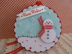 https://flic.kr/p/945YpN   Warm Wishes Snowman   Handmade by me. TFL :)