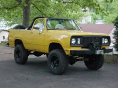 dodge ramcharger convertible - Google Search