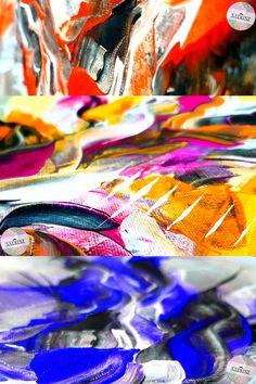 Abstract Art / Art Abstrait / Abstrakte Kunst / Abstraktné Umenie (Colorful)   Art by Satrini   Floral Horizon Collection   Paintbrush Malerei   Malmittel   Zeichnung   Malerei Themen   Zeitgenössische Kunst   Acrylgemälde   Leinwandgemälde   Maltechniken Acrylic color on canvas   Digital art technique   New Art Collection   Abstract Art   Abstract Wall Art   Abstract Painting   Abstract Art Prints   Modern Abstract Art   Abstract Art Ideas   Abstract Art For Sale   Abstract The Art of… Art Abstrait, Unique Colors, Abstract Art, Creative, Design, Contemporary Art, Paint Techniques, Painting Art, Canvas