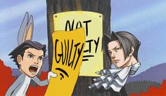 that sums up the game phoenix wright