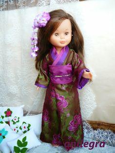 Kimono brocado para Nancy RESERVADO
