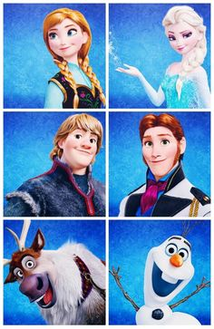 They are all so perfect except for Hans