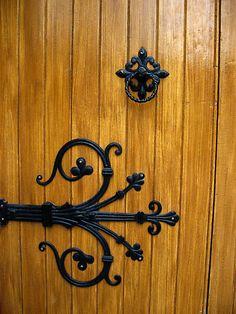 Asian ornamental hinges