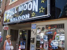 Full Moon Saloon - great place for music if you don't mind smoking   #onlyinnashville