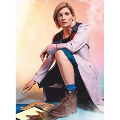 How to make your own Thirteenth Doctor Costume, the first female doctor, from Doctor Who. The Doctor costume is easy to make Dr Who Costume, Doctor Who Costumes, 13th Doctor, Eleventh Doctor, Doctor 13, Diy Doctor, Doctor Who Fan Art, Doctor Who Quotes, Bad Wolf Doctor Who