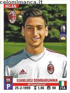 Calciatori 2015-2016: Fronte Figurina n. 359 Gianluigi Donnarumma