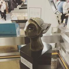 『マーキュリー像』 #笠置季男 #publicart