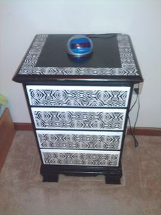 Duct tape night stand