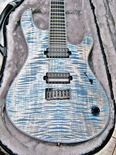 Mayones Guitars & Basses - handmade in Poland since Best known for its custom models. Guitar Pics, Easy Guitar, Guitar Art, Music Guitar, Cool Guitar, Playing Guitar, Acoustic Guitar, Blue Guitar, Play That Funky Music