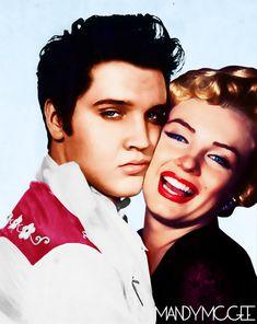 elvis and marilyn monroe pictures | Marilyn Monroe with - Marilyn Monroe - Fanpop