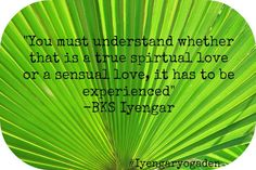 #iyengaryogaden #love