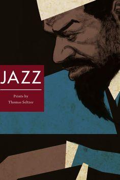 Jazz Prints by Thomas Seltzer Charles Mingus, Music Journal, Sonny Rollins, Dizzy Gillespie, Herbie Hancock, Thelonious Monk, Duke Ellington, Ella Fitzgerald, Billie Holiday