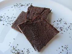 Frosty Cocoa Mint Protein Bars (Vegan. No Sugar Added. Low in carbs. High in protein. Whole grain)