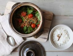 Red Lentil Curry in a Hurry Recipe | Abel & Cole