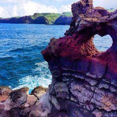 Aloha to my tweethearts! RT@Earth_Pics Earth Pics @Earth_Pics  33m Maui, Hawaii. Photo by A. Dulfer pic.twitter.com/sqMwv40iaE (Ming-Na Wen)