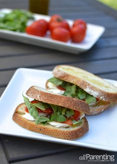 Eggplant And Smoked-Gouda Open-Faced Grilled Sandwiches Recipes ...