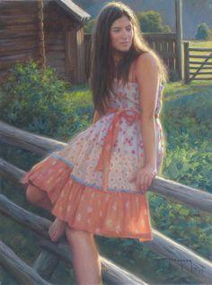 """Robert Duncan art """"In Her Dreams"""""""