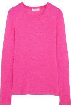 Equipment Violet silk and cashmere-blend sweater | NET-A-PORTER