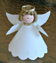Pierced Paper Angel by all things paper, via Flickr