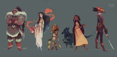 http://erysium.tumblr.com/post/129941857148/character-design-class-hw-a-team-based-on-5