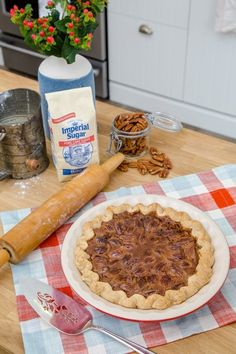 In my family, the most special moments always happened in the kitchen. Growing up in the South, I spent the days before Thanksgiving underfoot in my grandma's kitchen, scooping out cupfuls of flour and adding the finishing touch — a dust of powdered sugar — to her famous bourbon chocolate pecan pie. (As a reward, I got to turn the dough scraps into my own tiny pies, also dusted with sugar.) These little moments turned into beautiful memories that stick with me every year. The smell of this…