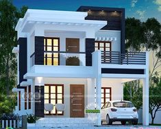 25 lakhs cost estimated double storied home is part of Kerala house design - 3 bedroom, 1755 square feet lakhs cost estimated double storied home by Dream Form from Kerala