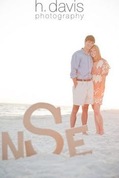 Great for an engagement session or beach wedding