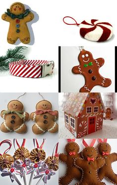 The Gingerbread Man by Jeanne on Etsy--Pinned with TreasuryPin.com