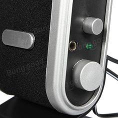 Mini 3.5mm USB Jack USB Audio Power Speaker for PC Notebook Powered Speakers, Audio Speakers, Pc Notebook, Computer Network, Laptop Accessories, Usb, Mini, Pa Speakers