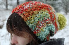 mandelbrot by dull-roar, via Flickr  --use handpainted yarns.