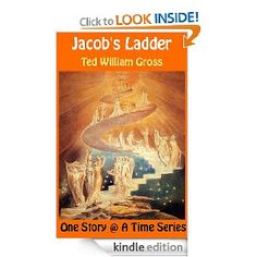 """Jacob's Ladder"" is part of the short story collection ""Ancient Tales, Modern Legends"". What happens when man and arch-angel meet and are forced to take action without any command to do so? What decisions must they arrive at despite the eons old silence of the One who rules them? How do they react to evil and good in their own way? How do they interpret the silence of the heavens? This is the story of ""Jacob's Ladder"" which is a mythical, fable-like discourse between man and angel."