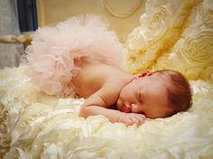 Rosette Crib Blanket by DreamSpunKids on Etsy, $55.00