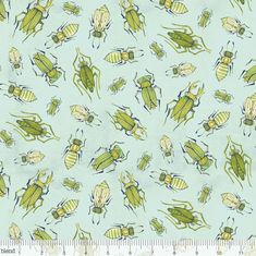 Blend Fabrics - The Adventurers - Insect Love - Blue by JeanMariesFabrics on Etsy https://www.etsy.com/listing/251106918/blend-fabrics-the-adventurers-insect