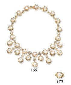 Pearl Jewelry Suite    Harry Winston