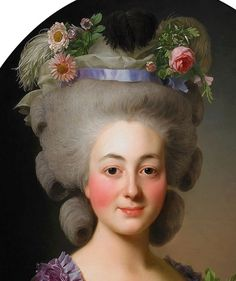 Awesome ideas for 18th century make up.