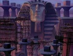 found a great resource today for Disney images, including Prince of Egypt. There are a lot of really elegant character and painterly background shots in the movie, but I liked this one as reference for the towers. Disney Animated Films, Animated Cartoons, Environment Concept Art, Environment Design, Egypt Concept Art, Beloved Movie, Egypt News, Prince Of Egypt, My Settings