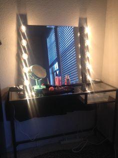 DIY VANITY IDEA from IKEA!