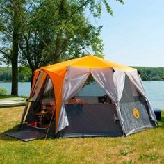 Coleman Cortes Octagon 8 Man Tent | Charlies Direct & Coleman Cortes Octagon 8 Man Tent | Charlies Direct | Outside ...