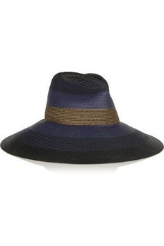Palm Beach wide-brim woven paper yarn hat #hat #covetme #tomasmaier