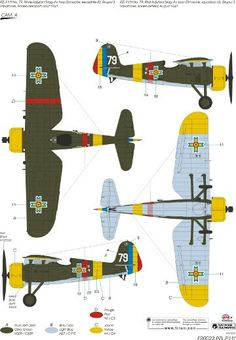 Ww2 Planes, Aircraft Design, Cutaway, Luftwaffe, Windmill, Wwii, Paint Colors, Air Force, Aviation