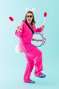 brit halloween energizer bunny maternity costume
