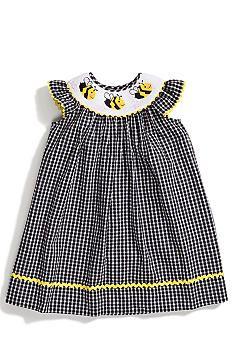 Marmellata Bee Smock Dress Toddler Girls