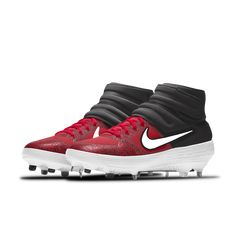 Nike Alpha Huarache Elite Mid Premium By You Baseball Cleat Baseball Shoes, Baseball Cleats, Air Max Sneakers, Sneakers Nike, Huaraches, Nike Air Max, Nike Tennis